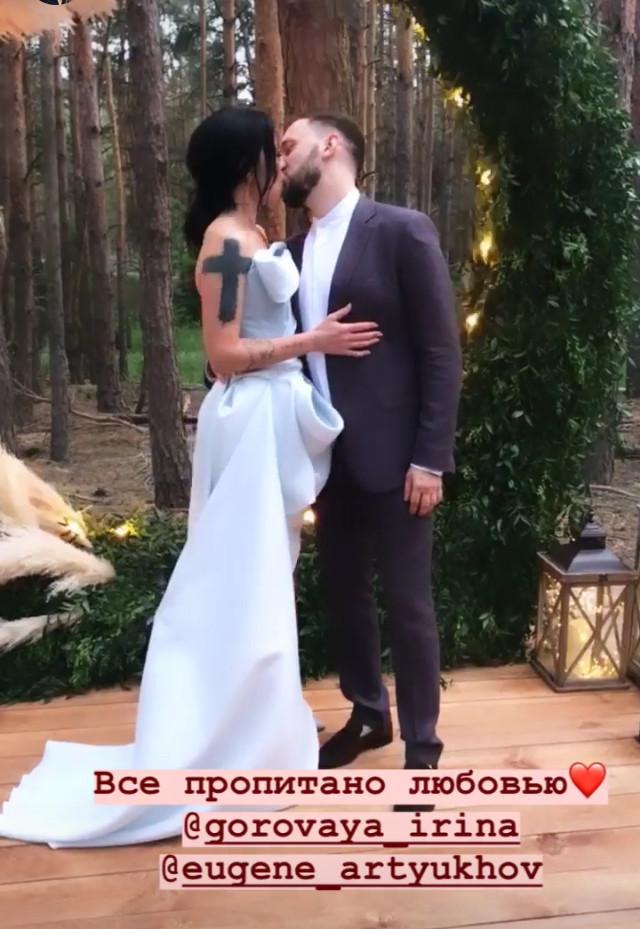 Бывшая жена Потапа Ирина Горовая пришла на свадьбу Потапа и Насти Каменских