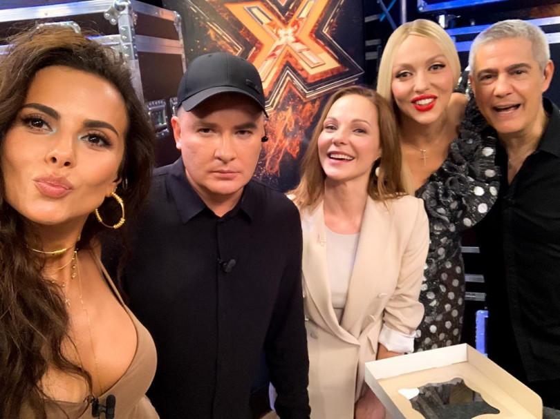 Даша Трегубова и новые судьи шоу Х-фактор 10 сезон