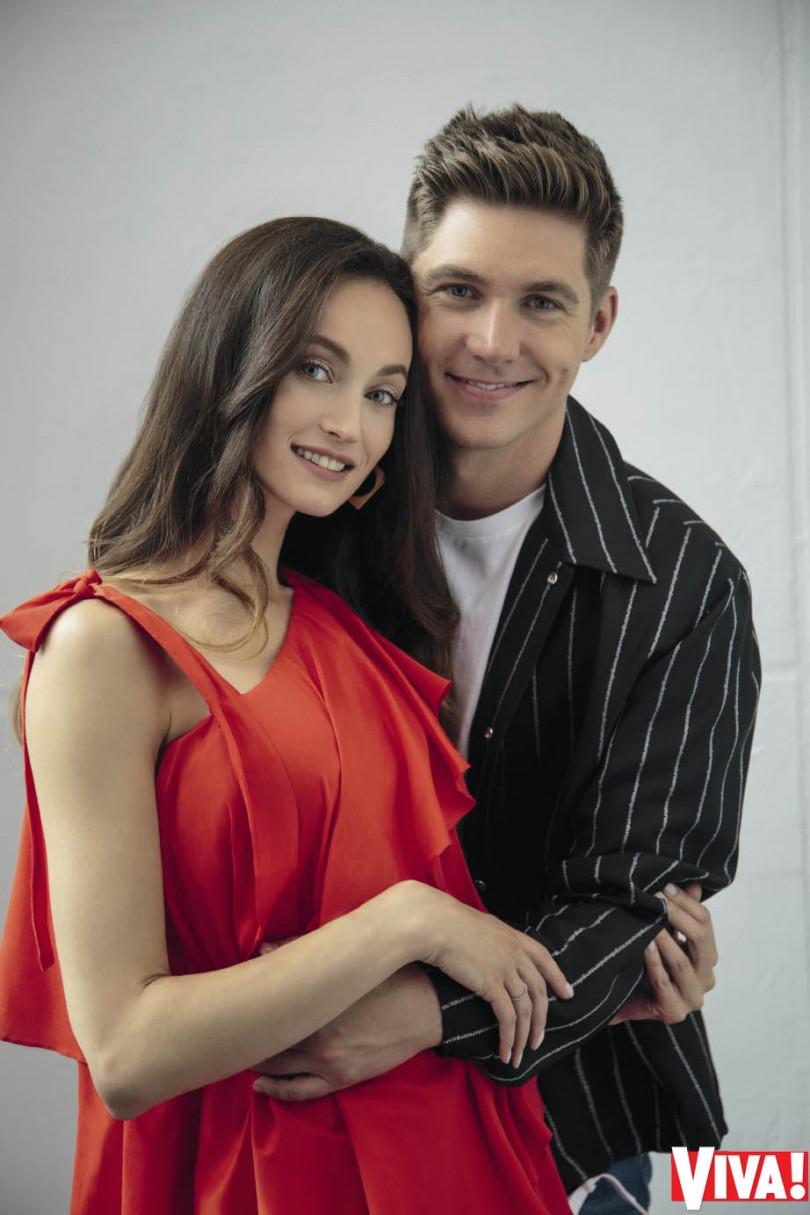 Владимир Остапчук с женой Еленой