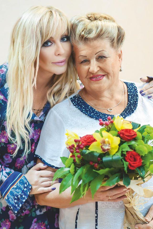 Ірина Білик з мамою